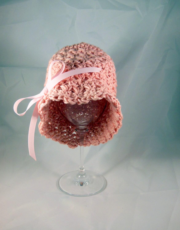 Crochet Baby Hat baby beanie hat cloche hat star stitch