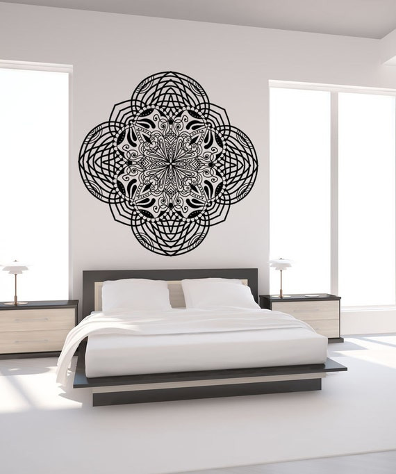 vinyl wall decal sticker abstract moroccan art osmb969b moroccan wall decor moonwallstickers com