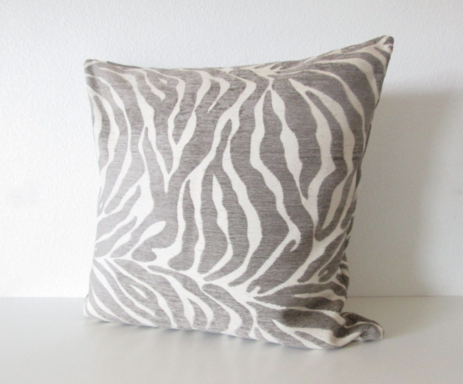Decorative pillow cover Animal Zebra Stripes by chicdecorpillows