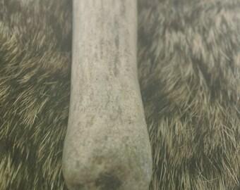 Burled Point Deer Antler Pendant