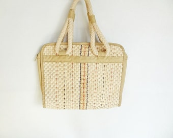 Womens Vintage Straw Clutch or Purse Perfect for Summer