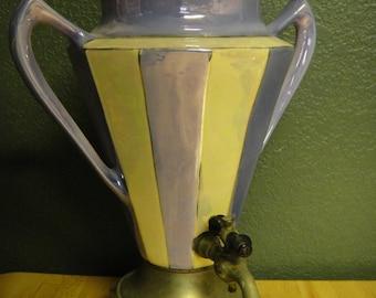 Deco Lustreware Finish Percolator Coffee Pot Royal Rochester
