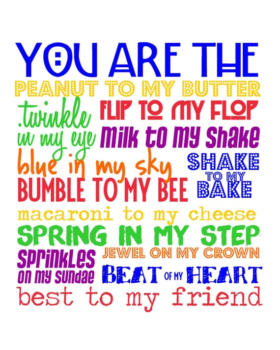 Quotes Best Friend Quotesyou Are The Peanut To My Butter