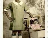 Vintage Photo, digital download, Her Doll