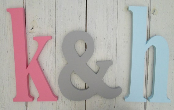 wall letters nursery decor wooden lower case letters 12 inch wall