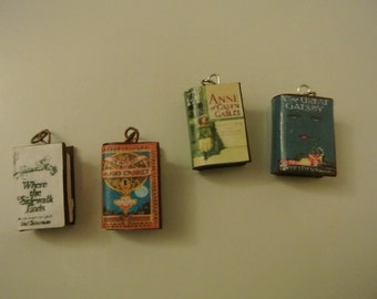 Choose Your Single Book Charm