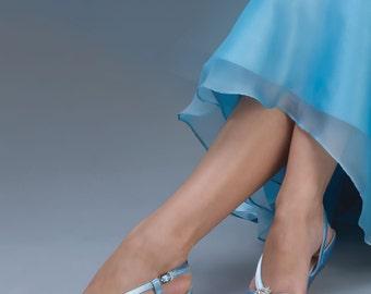 Wedding Shoes - 250 Custom Colors- Women's PBD101 Bridal Wedge Shoes