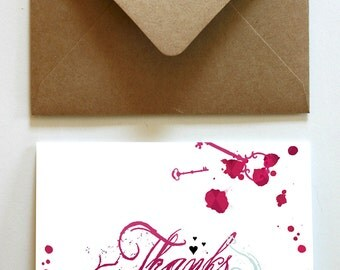 Mad Hatter Thank You Cards (30)