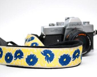 Camera Straps - DSLR Camera Strap - Floral Camera Strap - Padded Camera Strap - Nikon Camera Strap - Canon - Sony Strap - Divine