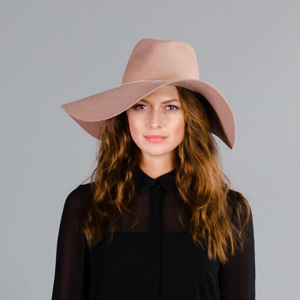 Felt Floppy Hat Fall Winter Fashion SALE by prestonandolivia