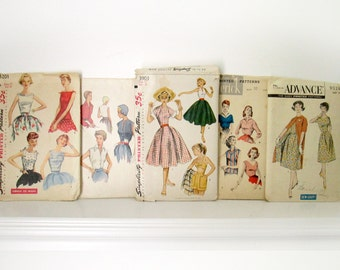 Collection of Mid Century Sewing Patterns