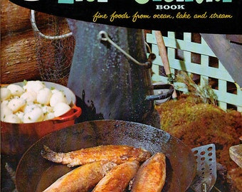 Good Housekeeping Cookbook FISH & SHELLFISH Vintage 1950s Recipe Book