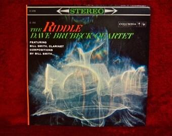 The DAVE BRUBECK QUARTET- The Riddle - 1960 Vintage Vinyl Record Album