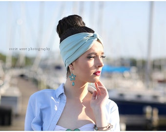 SPECIAL PRICE! Turban Head wrap,perfect for workout ,hippie headband by CristaBela's Boutique