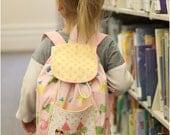 Lil' Adventurer Backpack Pattern: Kids Backpack Pattern, Toddler Backpack Pattern