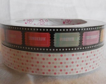 Kawaii Tickets Deco Tape Set of 2