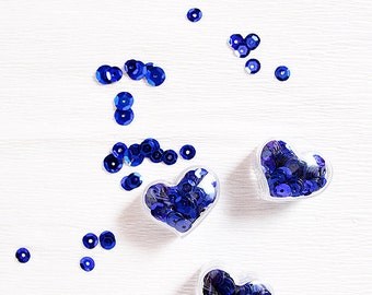 Lovely Pocket Sequins -Royal Blue