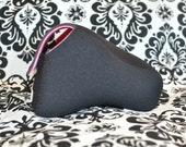 DSLR Camera Case - Black and Hot pink