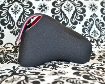 DSLR Camera Case - Black and Hot pink