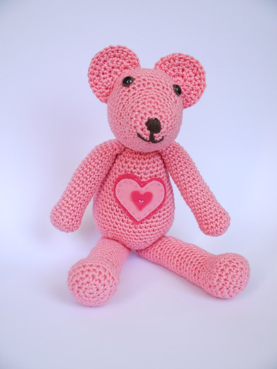 Amigurumi Baby Shower Bears : Large Amigurumi Crochet Teddy Bear. Perfect Baby shower or