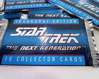 Star Trek Next Generation Vintage Trading Cards