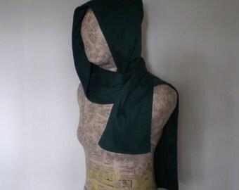 Wizard hoodie scarf