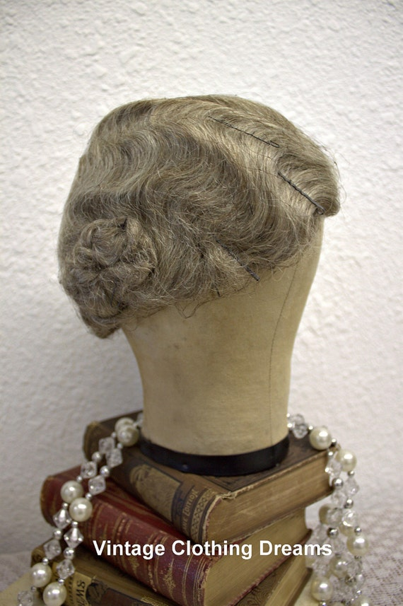 Vintage Wig 1920s 20s Wig Great Gatsby By Vintageclothingdream