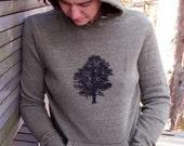 Oak Tree Hoodie, Unisex Hoodie, Hiking Sweater, Outdoor Pullover