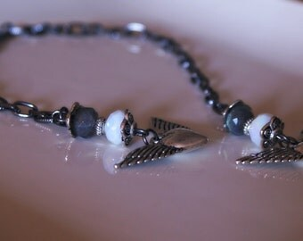 Fallen Angel Tibetan Wings Labradorite BookMark from MAYA Collections