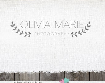 Photography Logo sewing logo leaf logo Premade Logo Design logo designs Vine logo photography logos and watermarks blog header logo designs