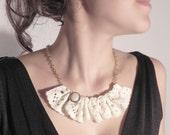 SALE!  Vintage lace necklace  chain romantic spirit 50% Discount one of a kind