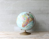 Vintage Replogle World Globe