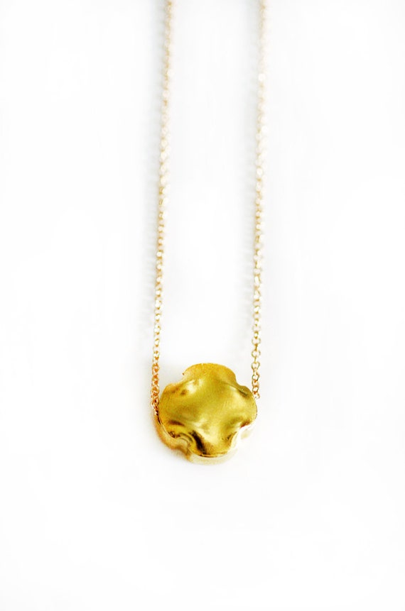 Gold Vermeil Clover Necklace