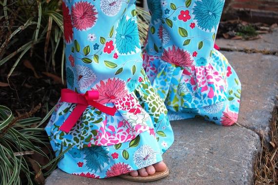 50% OFF Ruffles Galore Ruffle Pants PDF sewing pattern, ruffle pants pattern, seamingly smitten, PDF sewing pattern, easy pant pattern