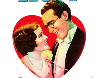 Harold Lloyd - Feet First - Home Theater Decor - Classic Comedy Silent Movie Poster Print  13x19 - Vintage Movie Poster - Old Movies