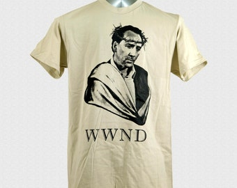 Nicolas Cage Shirt What Would Nic Do wwnd Nicolas Cage One True God