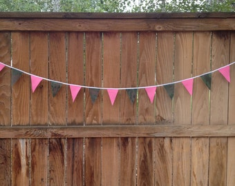 pink an d camo wedding banner camo baby shower decoration camo party