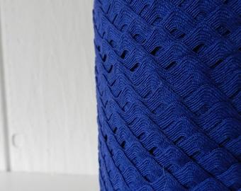 Destash Vintage Cobalt Blue Rick Rack Ric Rac Trim 10 yards