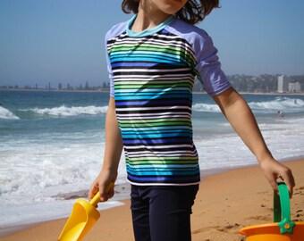 Boys swimwear long swim shorts