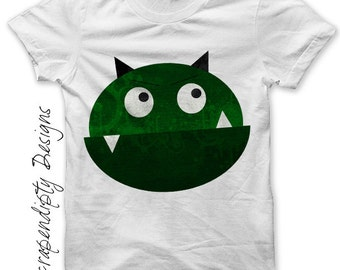 Monster Iron on Transfer - Space Iron on Shirt PDF / Kids Boys Clothing Tshirt / Space Shirt / 1st Birthday Boy Shirt / Monster Shirt IT3-P