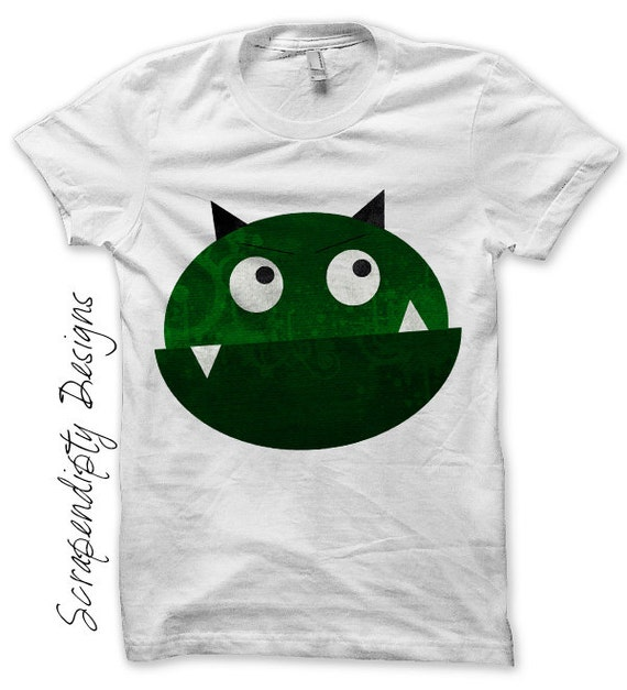 Monster iron on transfer space iron on shirt pdf kids boys for Space pattern clothing