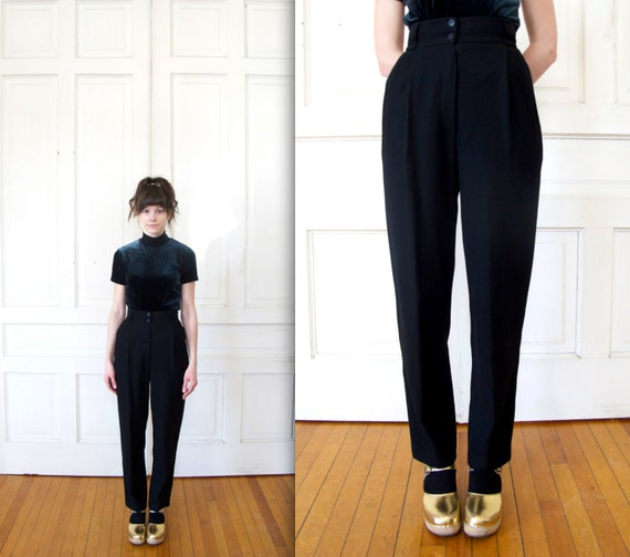 90s Genny High Waisted Wool