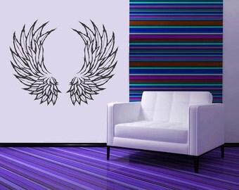 Angel Wing Wall Decor angel wings decor | etsy