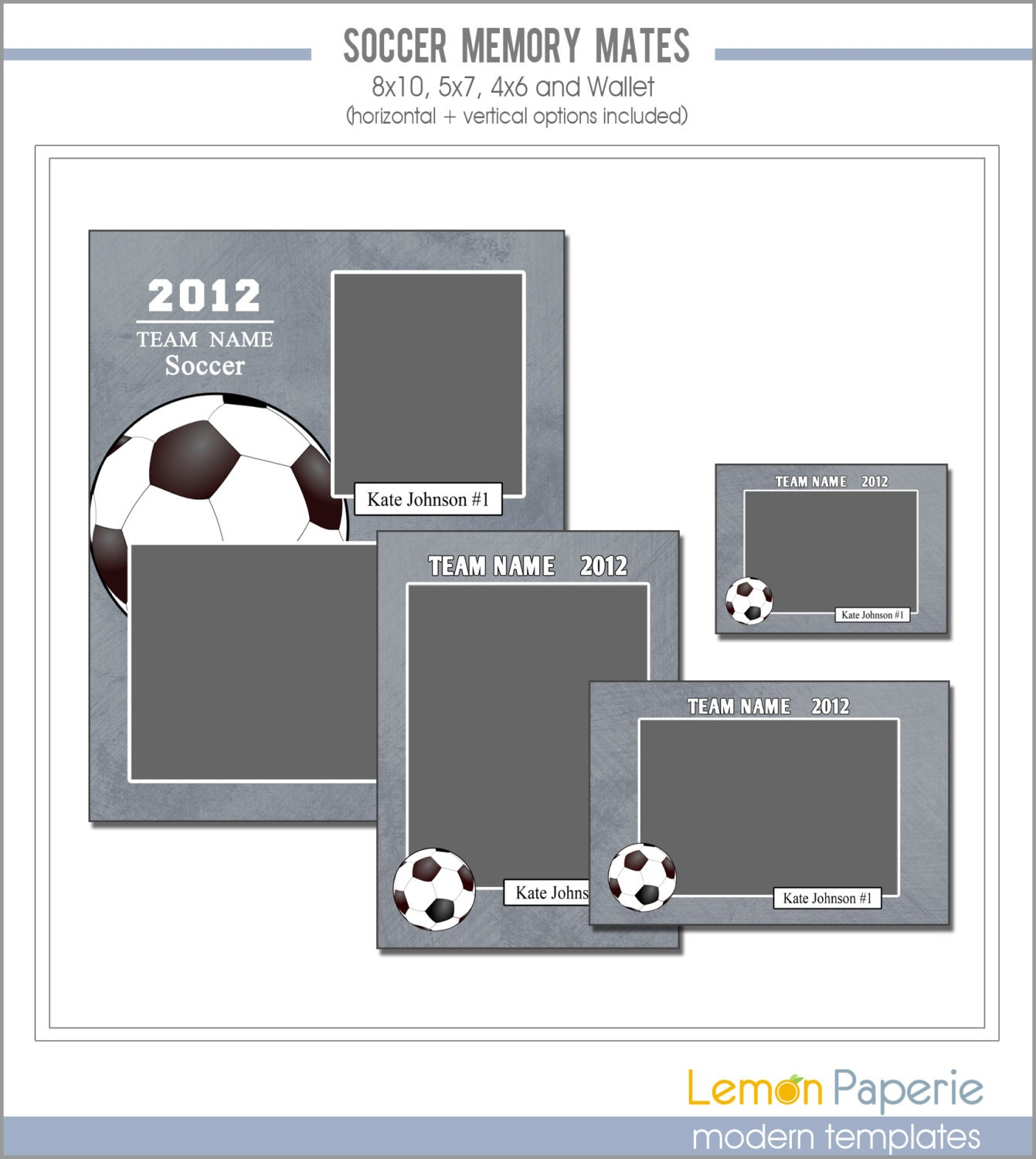 soccer memory mate templates sports template psd photoshop. Black Bedroom Furniture Sets. Home Design Ideas