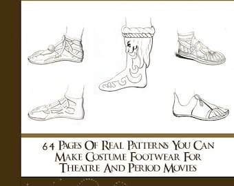 64 Rare SHOE and BOOT PATTERNS  illustrated Book How To Do Boot and Shoe Making Leather - Read on Your Tablet Instant Download - Top Reviews