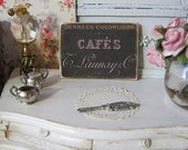 Cafe's Sign for Dollhouse