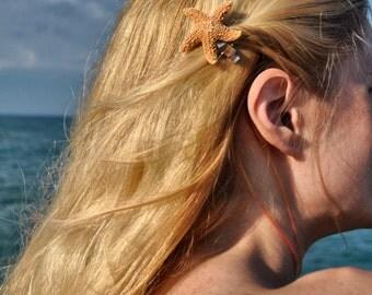Sugar Starfish Little Mermaid Hair Clip