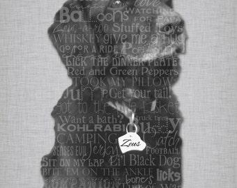 Beloved Pet... Typography, various sizes