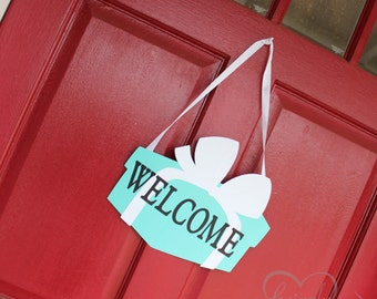 Welcome Sign - Choose Your Color