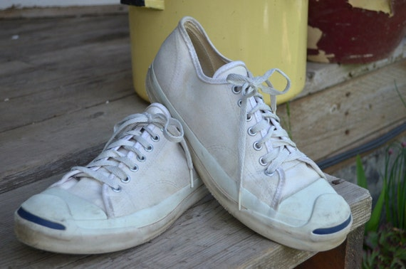 vintage made in usa canvas purcell tennis shoes s